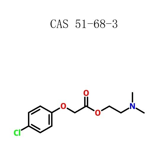 Meclofenoxatoa (Centrophenoxine) (51-68-3)