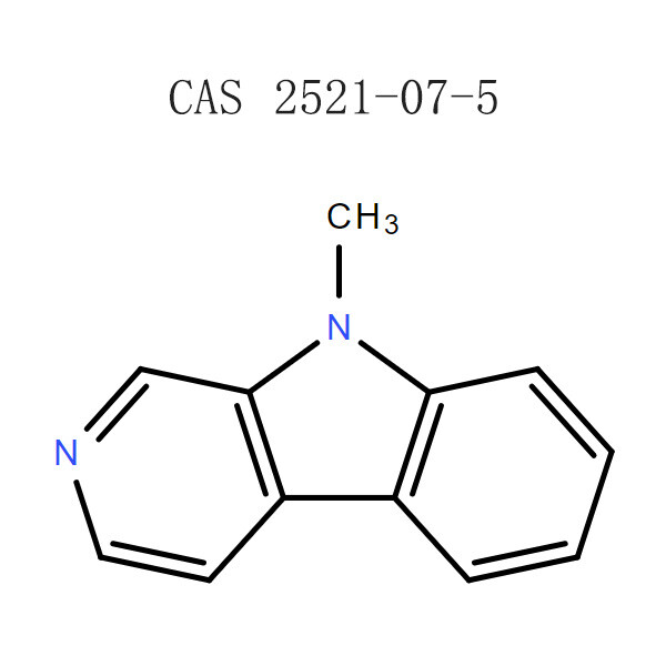 RAW 9-METHYL-9H-BETA-CARBOLINE အမှုန့် (၂၅၂၁-၀၇-၅)