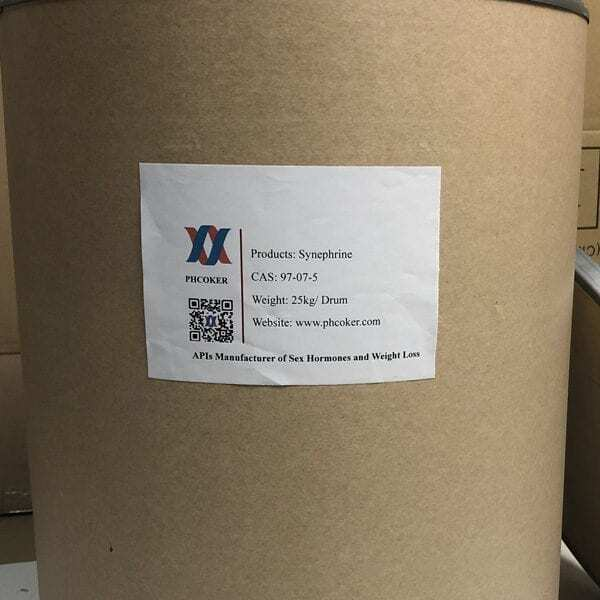 I-Raw Synephrine powder (97-07-5) Abavelisi - Phcoker Chemical