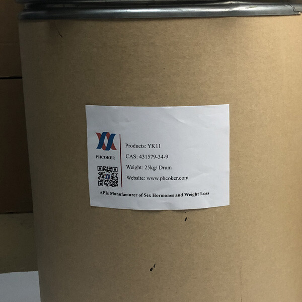 Raw YK-11 powder (431579-34-9) Mga Producer - Phcoker Chemical