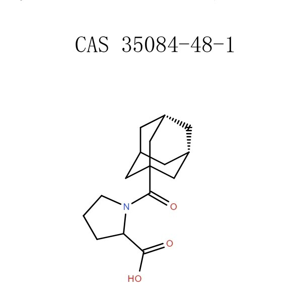 1- (ADAMANTANE-1-CARBONYL) -Pyrololine-2-Carboxylly acid